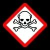 Símbolo Tóxico: Caveira e Ossos Cruzados