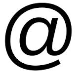 Simbolo Arroba