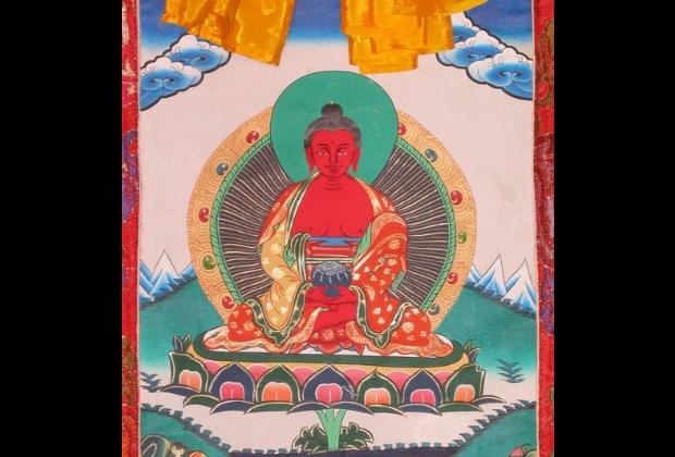 Os Cinco Budas Da Meditacao