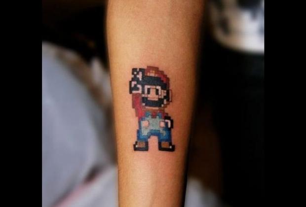 12 Fantasticas Tatuagens Geeks Para Voce Se Inspirar