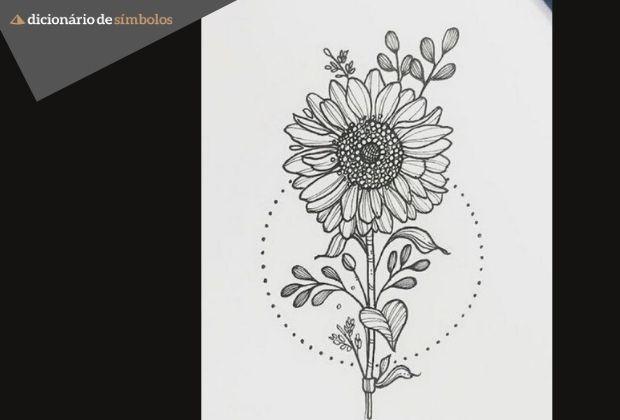 Tatuagem De Girassol Significados E Belas Imagens