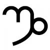 Símbolo de Capricórnio