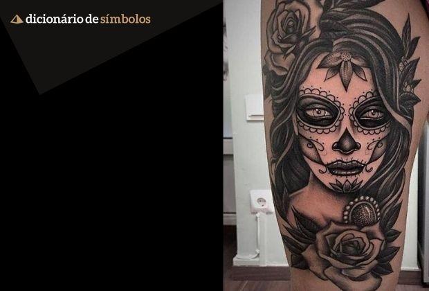 Tatuagem De Catrina Significado E Imagens Para Inspirar