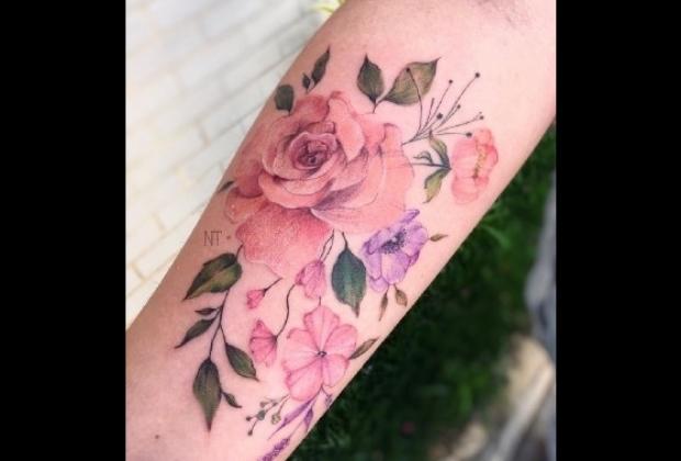10 Tatuagens Coloridas Mais Lindas E Seus Significados