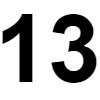 Número 13