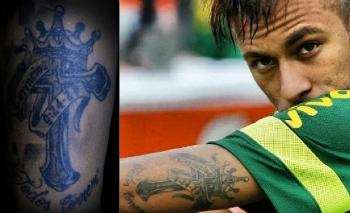 O Que Significam Os Simbolos Das Tatuagens De Neymar