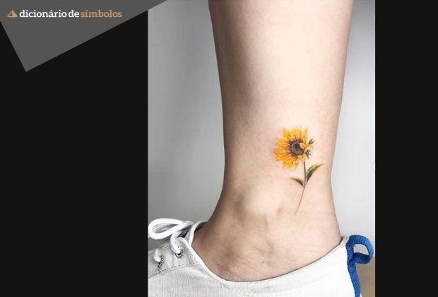 Tatuagem No Tornozelo Confere Ideias Para Voce Se Inspirar E Simbologias