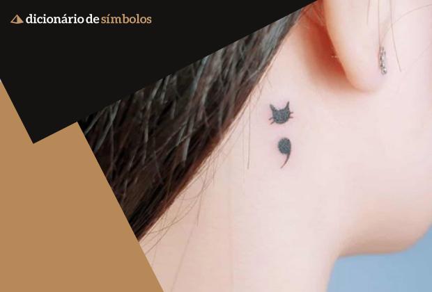 Voce Conhece O Significado Da Tatuagem Ponto E Virgula Nos Contamos Para Voce