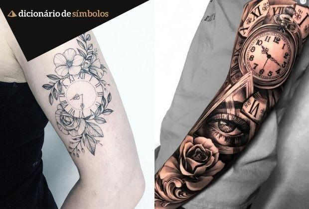 Relogio Seus Diferentes Significados E Suas Possibilidades Como Tatuagem