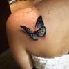 Tatuagens de Borboletas: ideias e locais do corpo para tatuar